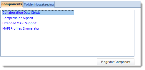 SSRS. Components House Keeping in Options section in SQL-RD