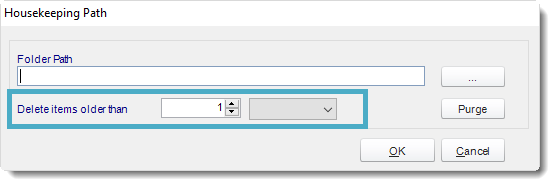 SSRS. Folder House Keeping in Options section in SQL-RD