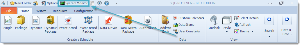 SSRS. SQL-RD Home Main Menu