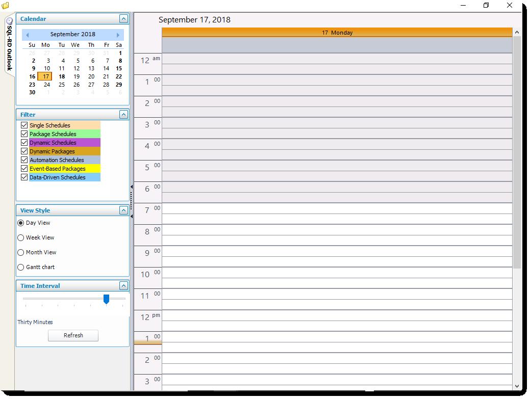 SSRS. SQL-RD Outlook in SQL-RD.