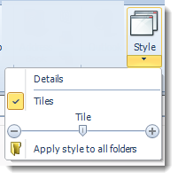 SSRS. Style View in SQL-RD.