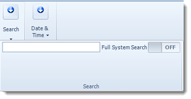 Crystal Reports: Search bar in CRD.