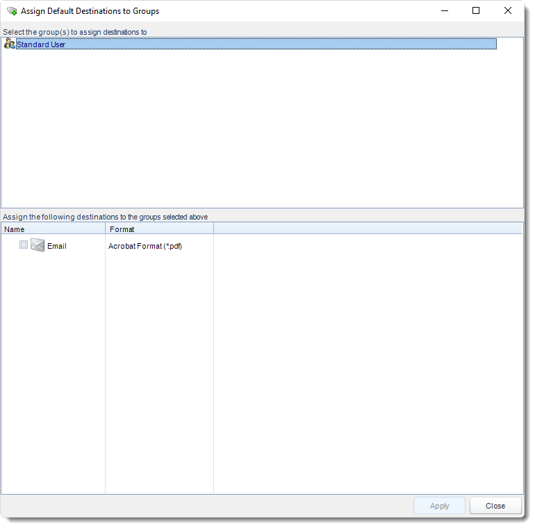 SSRS. Group Editor section in User Manager in SQL-RD.