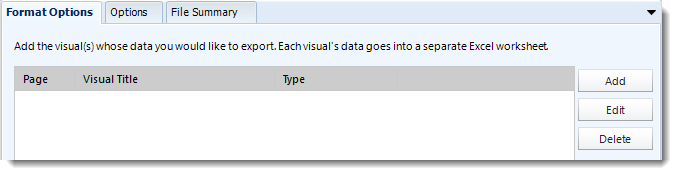 Power BI and SSRS. Excel format section in Destination Wizard in PBRS.