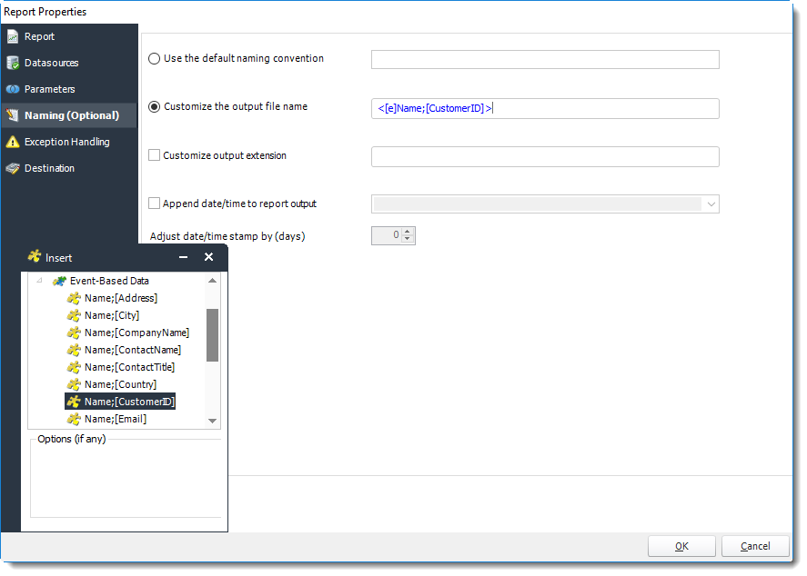 PBRS for Power BI/SSRS Reports: Setting up new SSRS reports in Event based schedules.