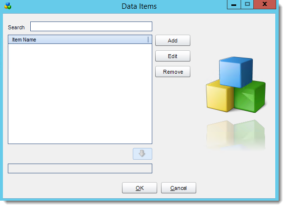 Crystal Reports: Data Items in CRD.