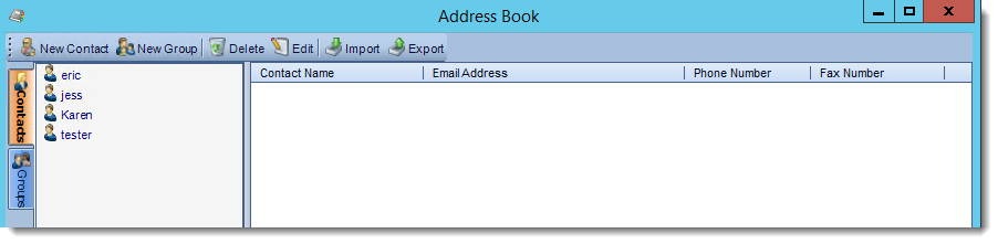 Crystal Reports: Address Book in CRD.