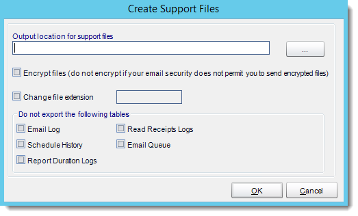 Crystal Reports: Support Files in CRD.