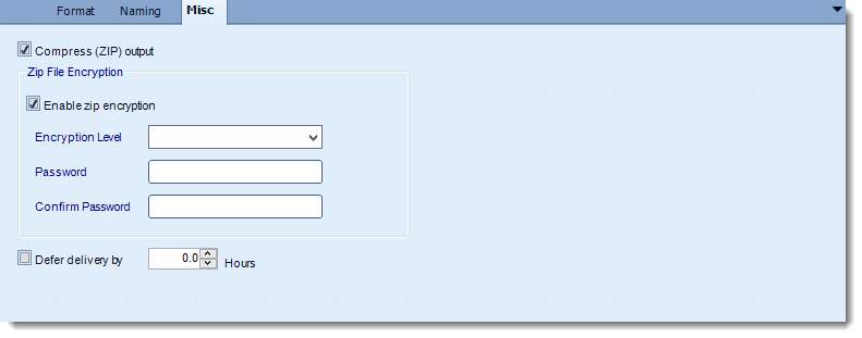 Crystal Reports: Text output format options in CRD.