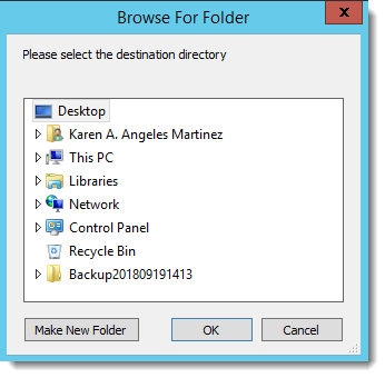 Crystal Reports: Browse For Folder in CRD.