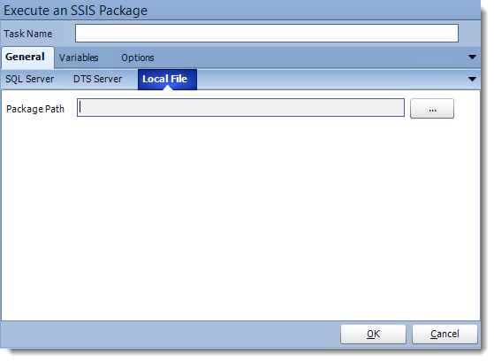 Crystal Reports: Execute an SSIS Package tasks in CRD.