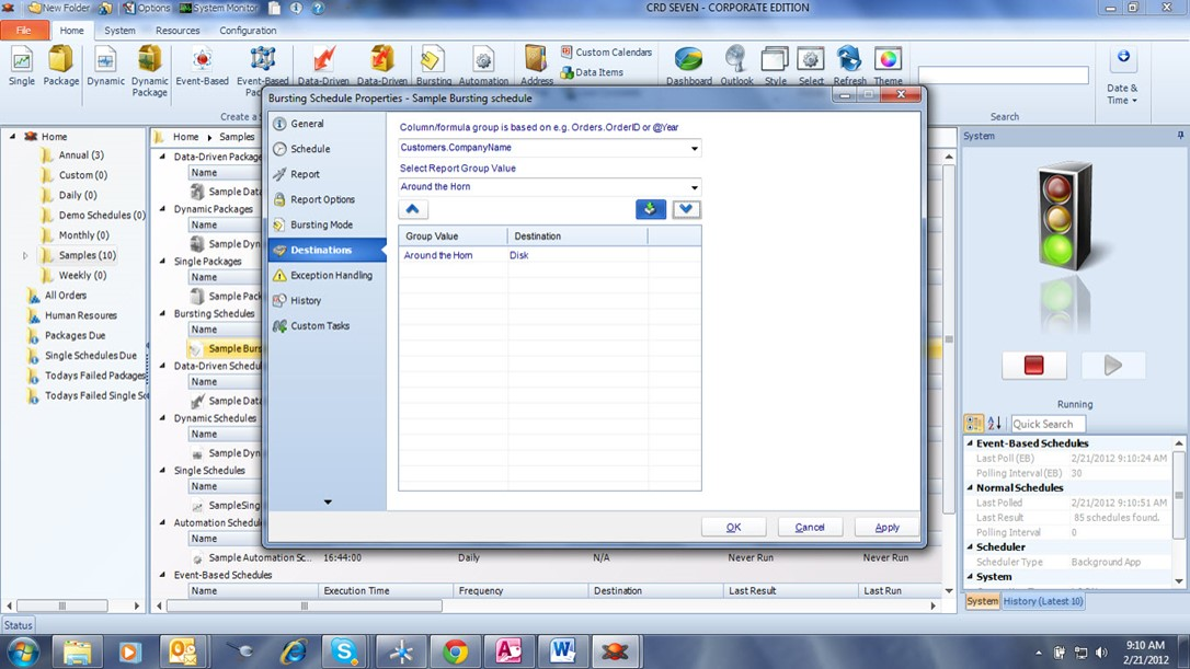 Crystal Report Bursting: How to Burst Crystal Reports by Email