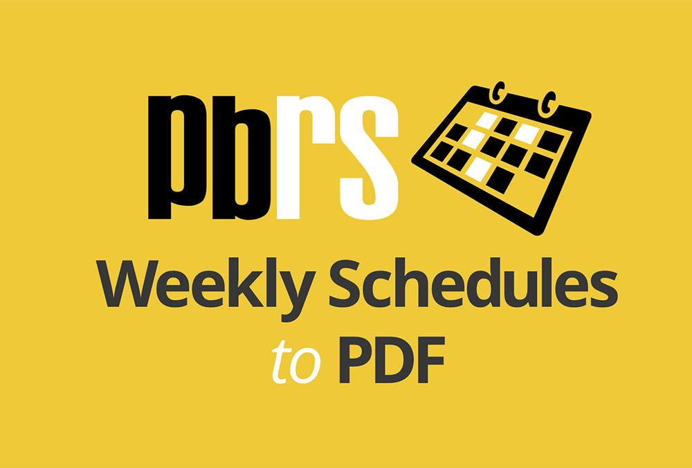Power BI Tutorial: Weekly Scheduled Reports to PDF