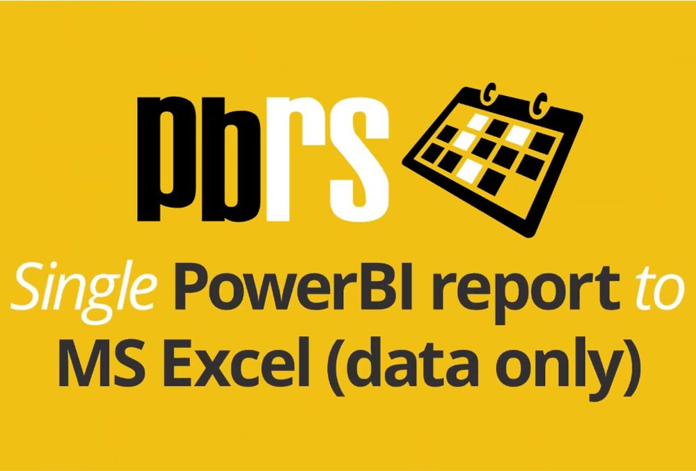 Power BI Tutorial: Scheduled Reports to Excel