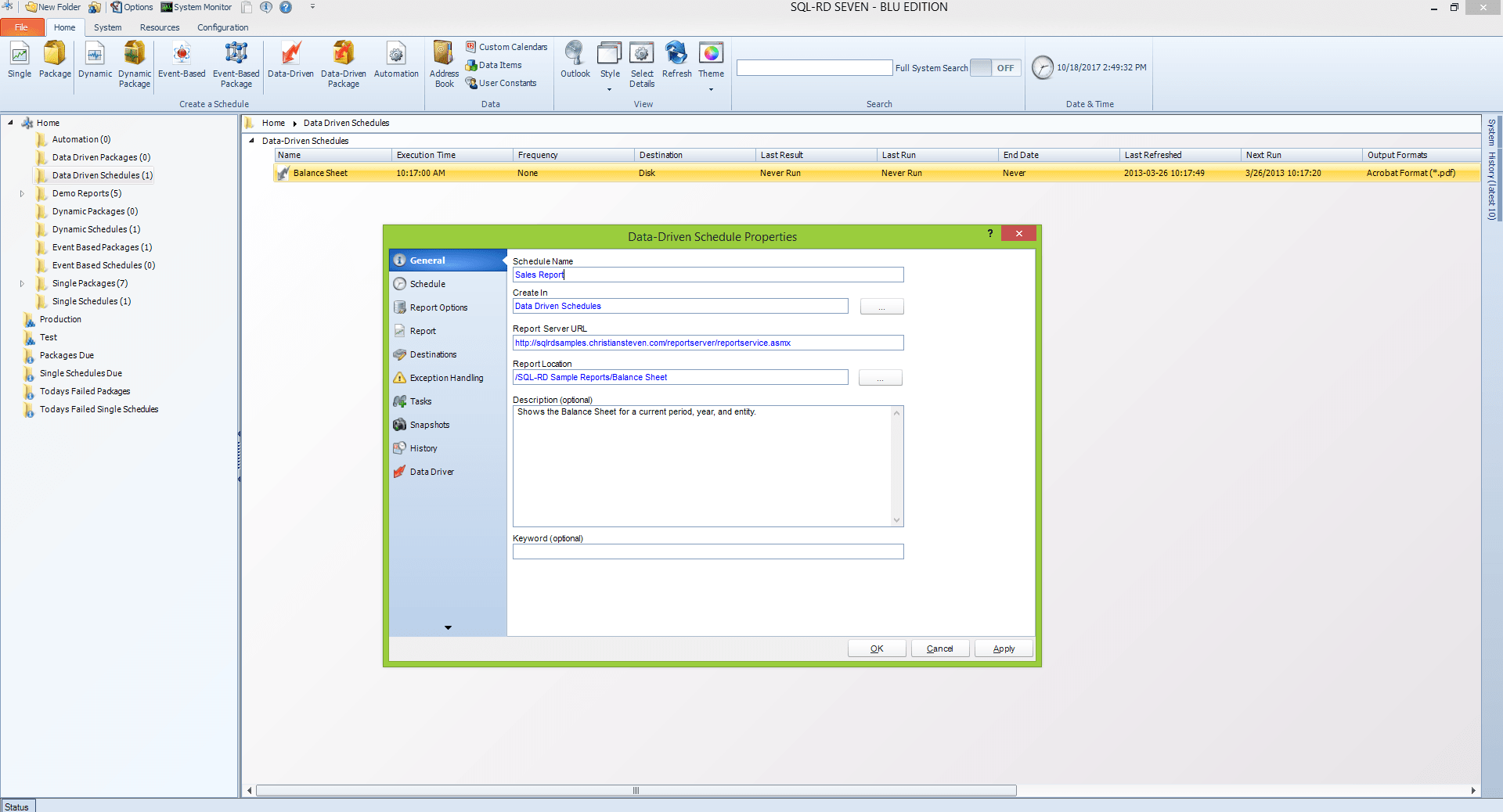 SQL-RD Release 20171018 Now Available